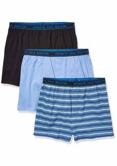 Kenneth Cole REACTION Men's Knit Boxer Underwear Multipack