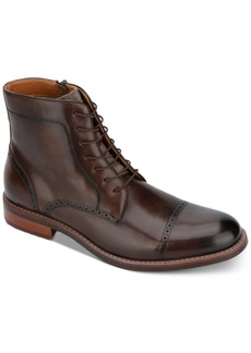 Kenneth Cole Reaction Men's Lace-Up Kelby Boots Men's Shoes