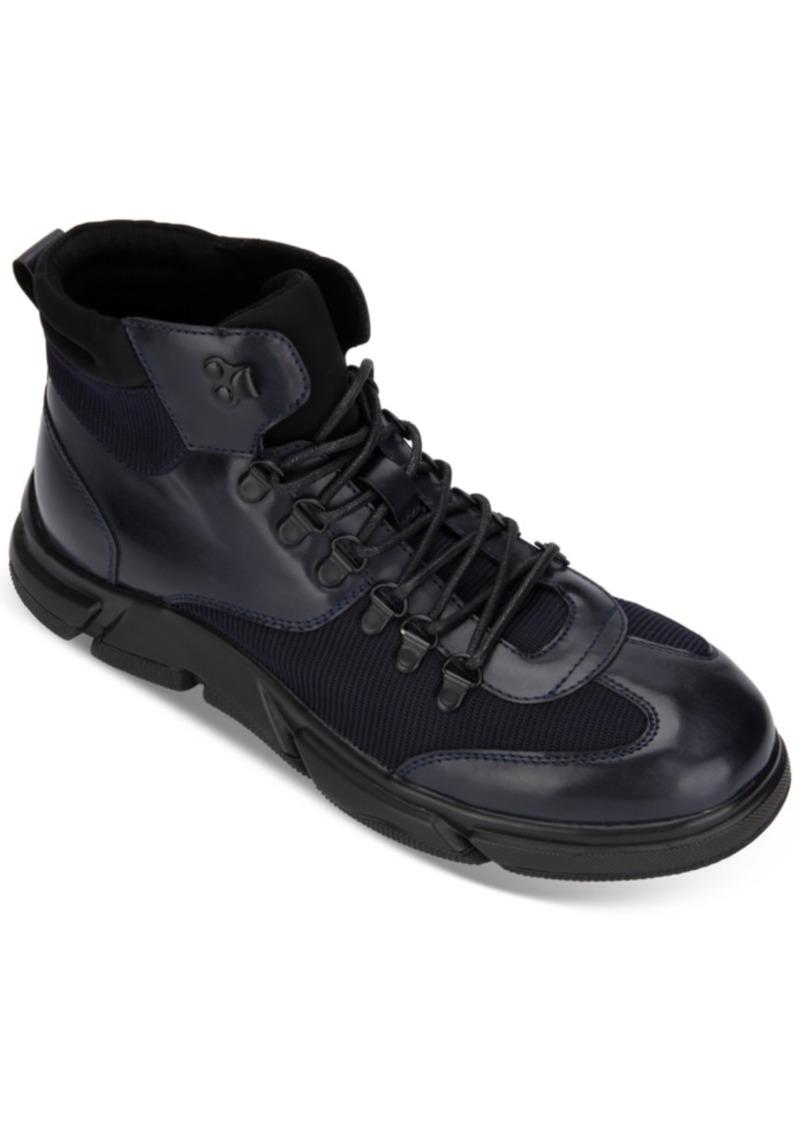 Kenneth Cole Reaction Men's Lace-Up Miro Boots Men's Shoes