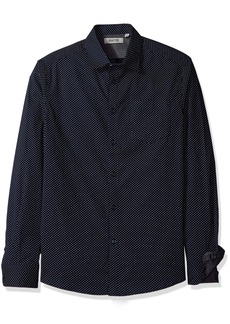 Reaction Kenneth Cole Long-Sleeve Geometric Print Shirt