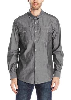 Kenneth Cole REACTION Men's Long Sleeve Woven Shirt