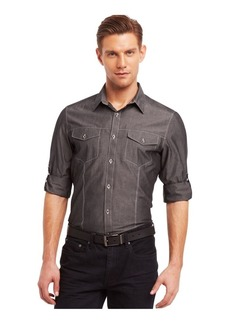 Kenneth Cole REACTION Men's Long Sleeve Woven Shirt