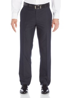 Kenneth Cole Reaction Men's Micro Pin Stripe Slim Fit Flat Front Pant  30x30