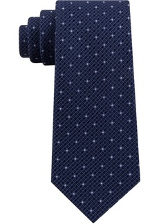 Kenneth Cole Reaction Men's Mini Square Geo Slim Tie