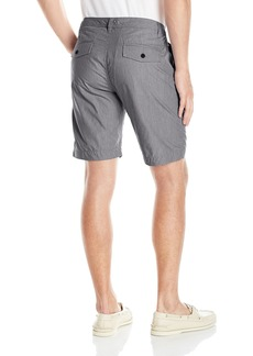 Kenneth Cole REACTION Men's Mni Chk Frn Short