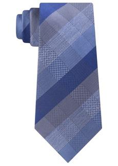 Kenneth Cole Reaction Men's Modern Plaid Slim Tie