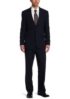 Kenneth Cole REACTION Men's Navy Stripe Suit Separate Jacket Navy Stripe