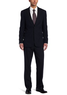 Kenneth Cole REACTION Men's Navy Stripe Suit Separate Jacket Navy Stripe  Regular