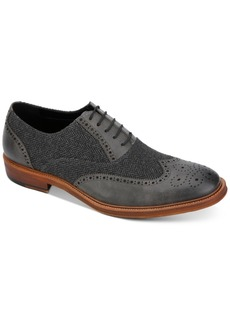 Kenneth Cole Reaction Men's Palm Full Brogue Wingtip Oxfords Men's Shoes