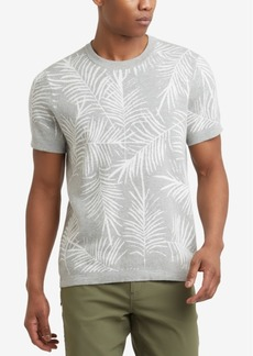Kenneth Cole. Palm Jacquard T-Shirt