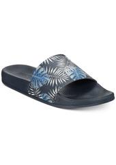 Kenneth Cole Reaction Men's Palm-Print Slide Sandals Men's Shoes