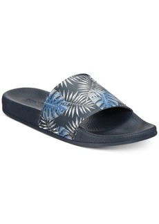 Kenneth Cole Reaction Men's Palm-Print Slide Sandals Men's Shoes