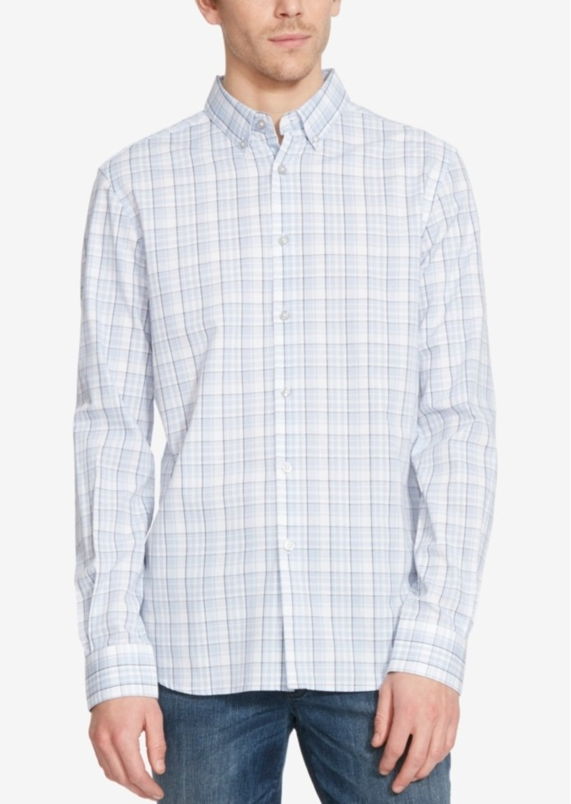 Kenneth Cole Reaction Men's Plaid Long-Sleeve Shirt