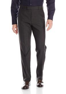 Kenneth Cole REACTION Men's Plaid Modern Fit Flat Front Pant  34Wx29L