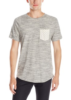 Kenneth Cole REACTION Men's PRNT WVN TRM Crew