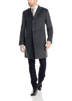 Kenneth Cole REACTION Men's Raburn Wool Top Coat  44 Short