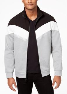 Kenneth Cole Reaction Men's Reflective Tape Full-Zip Jacket