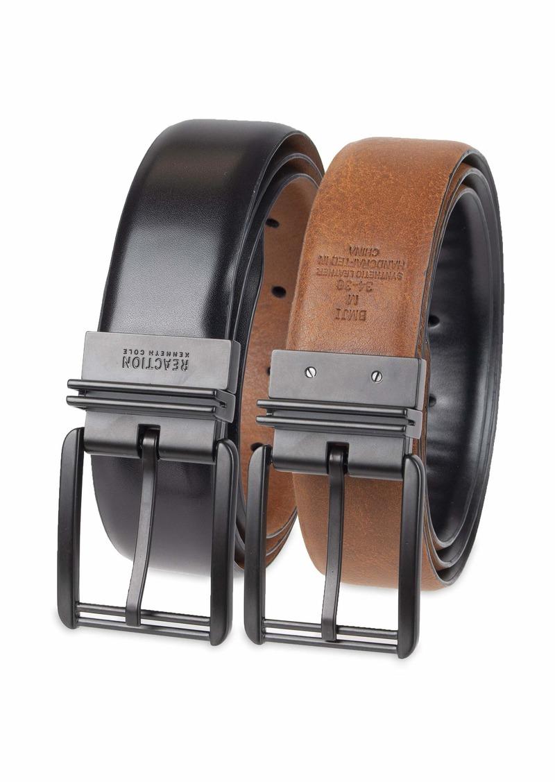 Kenneth Cole REACTION Men's Reversible Dress Belt  -black/brown