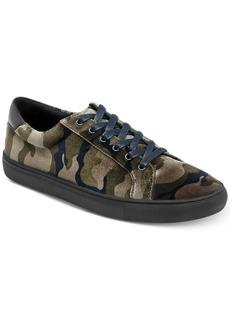 Kenneth Cole Reaction Men's Road Low-Top Velvet Sneakers Men's Shoes