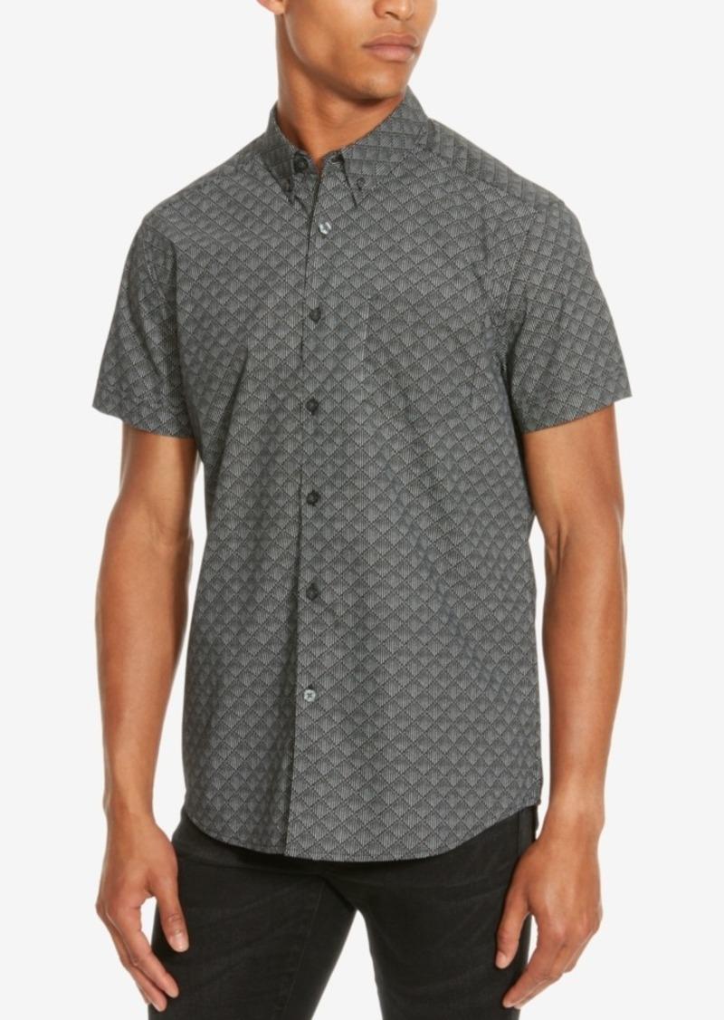 Kenneth Cole Reaction Men's Rough Diamond Short-Sleeve Shirt