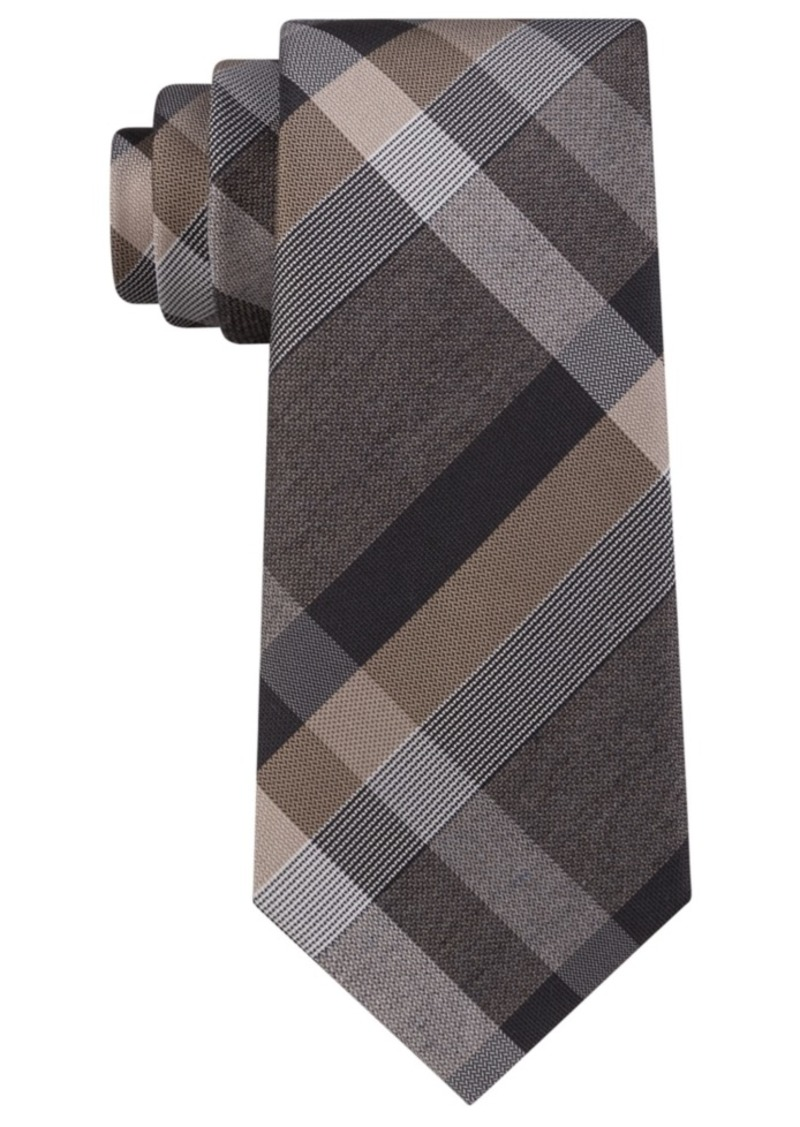 Kenneth Cole Reaction Men's Ruby Plaid Slim Tie