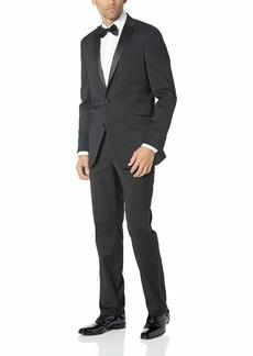 Kenneth Cole REACTION Men's Satin Lapel Tuxedo  R