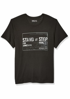 Kenneth Cole REACTION Men's Short Sleeve Graphic Tee  M