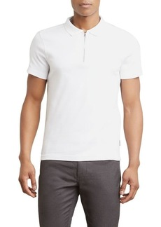 Kenneth Cole REACTION Men's Short Sleeve Polo White M