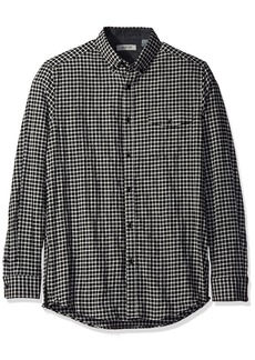 Kenneth Cole REACTION Men's Sleeve Button Down Collar Long Flannel