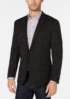 Kenneth Cole Reaction Men's Slim-Fit Black Camouflage Sport Coat, Online Only