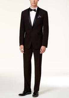 Kenneth Cole Reaction Men's Slim-Fit Black Shawl Tuxedo