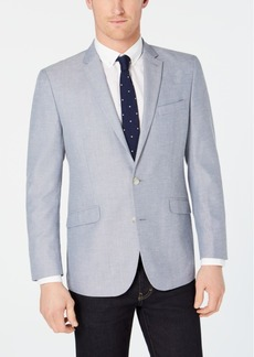 Kenneth Cole Reaction Men's Slim-Fit Blue/White Tic Sport Coat