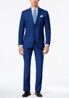 Kenneth Cole Reaction Men's Slim-Fit Bright Blue Suit