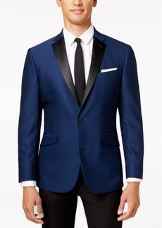 Kenneth Cole Reaction Men's Slim-Fit Electric Blue Evening Jacket