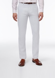 Closeout! Kenneth Cole Reaction Men's Slim-Fit Fine Twill Techni-Cole Pants