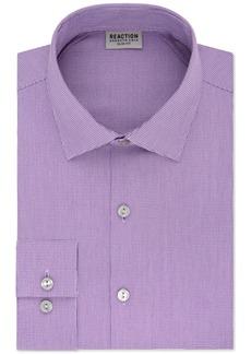 Kenneth Cole Reaction Men's Slim-Fit Flex Collar Three-Way Stretch Performance Unsolid Dress Shirt
