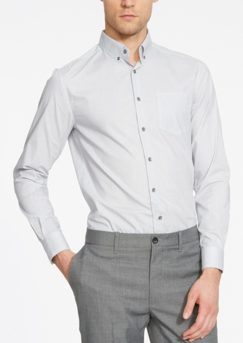 Kenneth Cole Reaction Men's Slim-Fit Foulard-Print Long-Sleeve Shirt