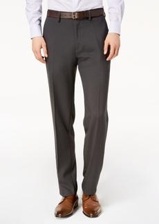 Kenneth Cole Reaction Men's Modern-Fit Micro-Check Dress Pants