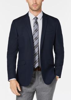 Kenneth Cole Reaction Men's Slim-Fit Navy Solid Sport Coat, Online Only