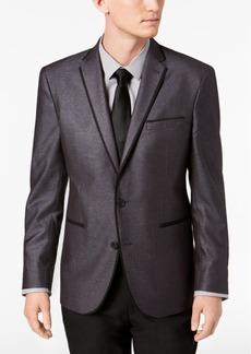 Kenneth Cole Reaction Men's Slim-Fit Silver Shimmer Dinner Jacket, Online Only