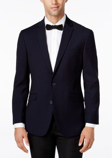 Kenneth Cole Reaction Men's Slim-Fit Soft Navy Geo Sport Coat