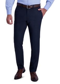 Kenneth Cole Reaction Men's Slim-Fit Stretch Check Dress Pants