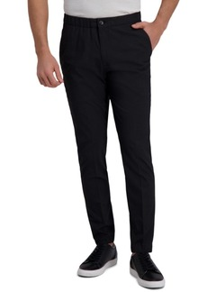 Kenneth Cole Reaction Men's Slim-Fit Stretch Houndstooth Jogger Dress Pants