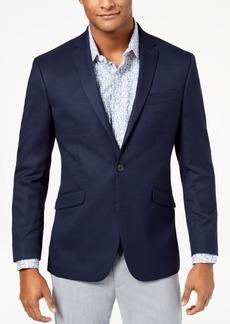 Kenneth Cole Reaction Men's Slim-Fit Stretch Navy/Blue Pin-Dot Sport Coat, Online Only