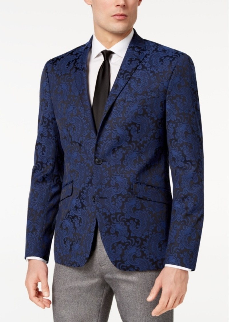 Kenneth Cole Kenneth Cole Reaction Men s Slim-Fit Stretch Paisley ... 3e03d1ca9