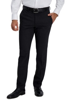 Kenneth Cole Reaction Men's Slim-Fit Stretch Pattern Dress Pants