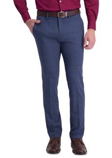 Kenneth Cole Reaction Men's Slim-Fit Stretch Plaid Sharkskin Dress Pants