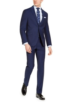 Kenneth Cole Reaction Men's Slim-Fit Techni-Cole Stretch Plaid Suit, Created for Macy's