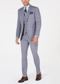 5e84dbbf51 Kenneth Cole Kenneth Cole Reaction Men's Slim-Fit Gray & Burgundy ...
