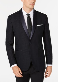 Kenneth Cole Reaction Men's Slim-Fit Tonal Houndstooth Dinner Jacket, Online Only